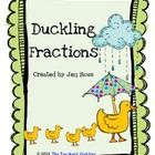 FREE Students practice their fractions with the duck pictures!Copy the duckling page on different colors of paper, or have them color in the colors th...