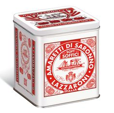 Lazzaroni Soft Amaretti, packaging, retro, design