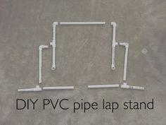 Cross Stitch (Flosstube) #15 - DIY Lap Stand - YouTube