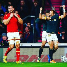 Knockout rugby... it's emotional #RSAvWAL #RWC2015