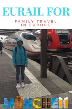 Train travel via Eurail in Europe as a family with kids via @dishourtown