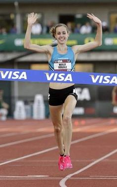 Molly Huddle go for gold in London!