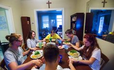 Six 20-somethings in D.C. will give up many comforts of modern life for a year to serve the sick and the poor, a nod to the pope's teachings.