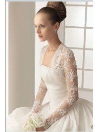 Beautiful and Elegant Lace Wedding jacket WP010