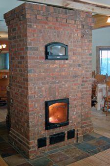 Foyer de masse cle en main, poêle de masse, masonry heater