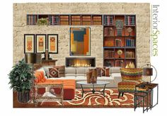 Check out this moodboard created on @olioboard: A Room For Reading by abbielevy