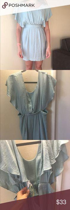 BCBG Generation Cutout Dress Super cute BCBG dress. Only worn once. BCBGeneration Dresses Mini