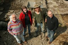 Time Team - Mick, Helen, Phil and Tony