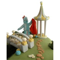 Iggle Piggle From In The Night Garden Edible Cake Model/ Topper cakepins.com