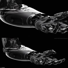 ArtStation - Bionic Arm Concept Design, Edon Guraziu