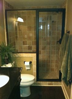 Insanely Cool Small Master Bathroom Remodel Ideas On A - Bathroom Renovations - Bathroom Decor Small Bathroom Plans, Small Bathroom Ideas On A Budget, Bathroom Design Small, Bathroom Layout, Bathroom Interior Design, Bathroom Designs, Small Bathrooms, Bath Design, Small Bathroom With Shower