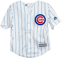 CHICAGO CUBS TODDLER REPLICA HOME COOL BASE JERSEY BY MAJESTIC ATHLETIC#ChicagoCubs #Cubs #CubsFans #GoCubs #Chicago
