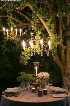 Outdoor date decor via sheerluxe.com