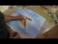 Painting On Fabric With Inktense Blocks - Part 2 of 2 - YouTube