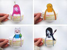 Tea Bags Get Nerdy With These Custom Tea Hangers