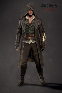 ArtStation - Assassin's Creed Syndicate - Jacob Outfit 03, Mathieu Goulet