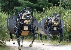 "#NewTechTuesday: ""Latest AlphaDog Robot Prototypes Get Less Noisy, More Brainy"" - IEEE Spectrum"