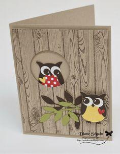 Owl stampin up                                                                                                                                                                                 Plus