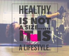 """Be the best YOU can be. Don't try and be a certain size or be """"like"""" someone else. Focus on creating healthy habits that will help you to FEEL great.  """"NOW is the best time to start becoming the person we want to be."""""""