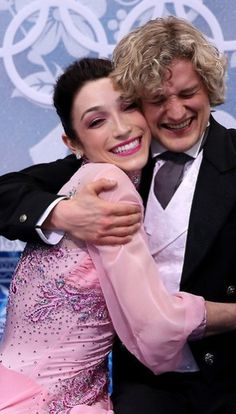 Meryl Davis and Charlie White of the United States compete during the Figure Skating Ice Dance Short Dance at the 2014 Winter Olympics in Sochi Russia - February 16, 2014