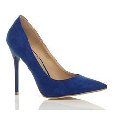 Damen Höher Absatz Kontrast Party Spitz Gepflegt Fesch Arbeit Pumps Schuhe 5 38 - http://on-line-kaufen.de/ajvani/38-eu-5-uk-damen-hoeher-absatz-kontrast-stilettos-18
