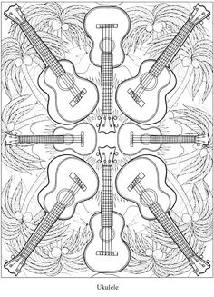 Creative Haven Musical Kaleidoscope Colouring Book