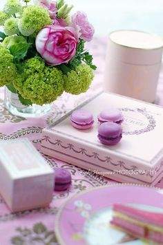 Ladurée... Chartreuse & Lavender...