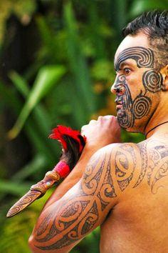 Maori People, New Zealand
