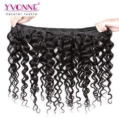 #Grade 4A 100% Peruvian Italian Curl Virgin Hair Weave 1B Color