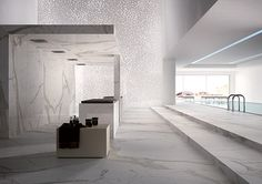 New technology Porcelanico. calacatta