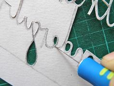 papercutting tricky letters e 7