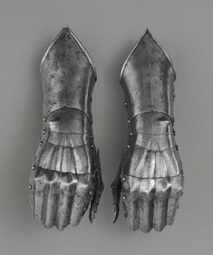 Pair of Gauntlets Artist/maker unknown, German Geography: Made in Augsburg, Germany, Europe Date: c. 1490