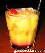 Good Cocktails - Tequila Sunrise Mixed Drink Recipe
