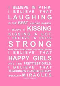 i believe, Audrey Hepburn quote