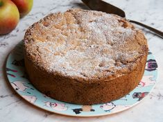 Annabel Langbein's One-Pot Spiced Apple Cake ~ 10 generous serves Apple Cake Recipes, Apple Desserts, Apple Cakes, Cookie Recipes, Bbc Good Food Recipes, Sweet Recipes, Yummy Food, Cheesecakes, Chefs