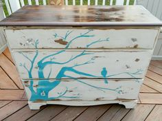 Vintage Dresser  by Stefantastical (Etsy)