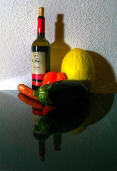 https://flic.kr/p/zXfPgY | Stilleben - Obst, Gemüse, Wein, das mag ich!