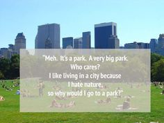 Central Park, New York City - funny reviews