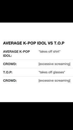 Haha so true!  #Kpop  #TOP