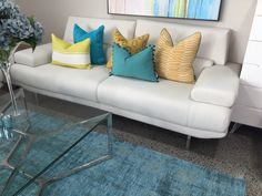 Possible sofa style Sofa Styling, Colorful Furniture, Staging, Couch, Colour, Home Decor, Style, Role Play, Color