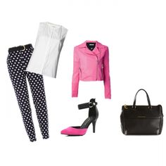 Join our Wishi community to get ideas on what to wear for upcoming events like this cool pink and black look. Join us at www.wishi.me