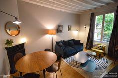 Appartement 30 m2 coeur de Paris, Parisd'intérieur - Côté Maison Decor, Ceiling Lights, Ceiling, Home Decor, Pendant Light, Light