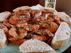 This dish is a New Orleans mainstay, created by Pascal's Manale located at: 1838 Napoleon Avenue New Orleans, LA 70115 (504) 895-4877 There are so many imitations that the dish has kind of re…