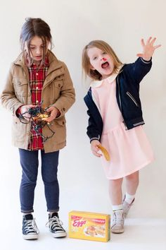 Sydney resident Kelly Crawford has completely nailed the whole parenting thing by producing these adorable Stranger Things costumes.