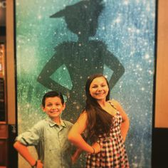 Luca saw Finding Neverland!