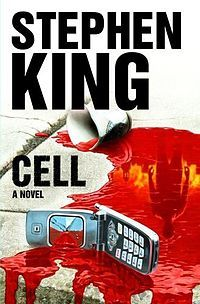 """Cell"" is an apocalyptic horror novel published by American author Stephen King in 2006. An excerpt was published in the January 24, 2006 issue of Entertainment Weekly. The story follows a New England artist struggling to reunite with his young son after a mysterious signal broadcast over the global cell phone network turns the majority of his fellow humans into mindless vicious animals."