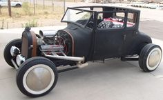 1927 FORD MODEL T CUSTOM COUPE - Side Profile - 116259