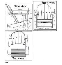 how to build an adirondack chair free plans and instructions in