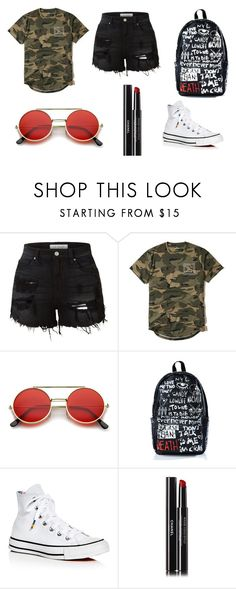 """9"" by fusion9 on Polyvore featuring LE3NO, Hollister Co., ZeroUV, Haculla, Converse e Chanel"