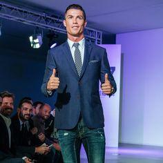Cristiano Ronaldo: Soccer Stud, Designer-Denim Lover, Entrepreneur